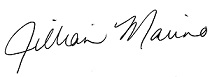 Jillian signature